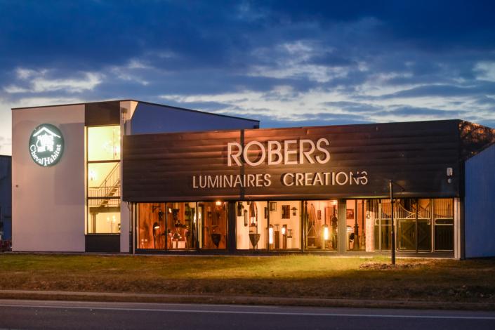 Robers Leuchten Showroom France